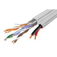 Кабель UTP 4PR 24AWG CAT5e+2x0,75 INTDOOR внутр. multi OLT4ADC2D OptimLAN